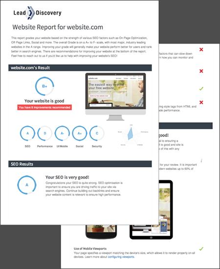 Free SEO Audit Report PDF