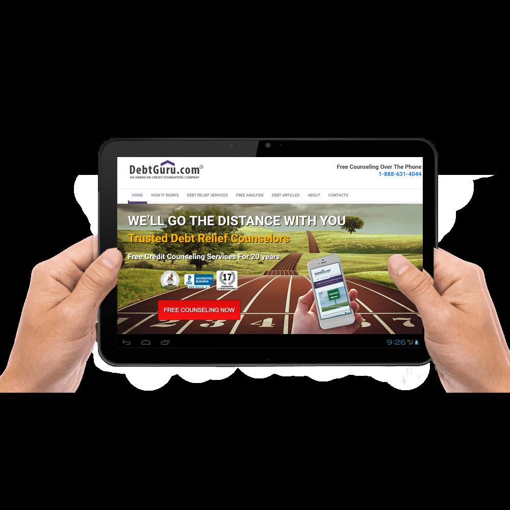 Website Portfolio of Responsive Designs